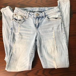 Almost Famous Heavily Distressed Jeans